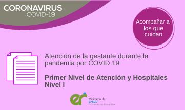 Atención de la gestante en el marco de COVID-19
