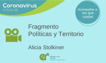 «Políticas y Territorio»