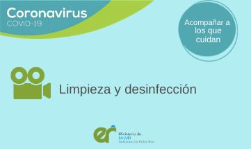 Recomendaciones de Limpieza y desinfección