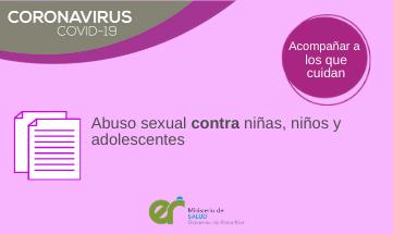 Abuso sexual contra niñas, niños y adolescentes