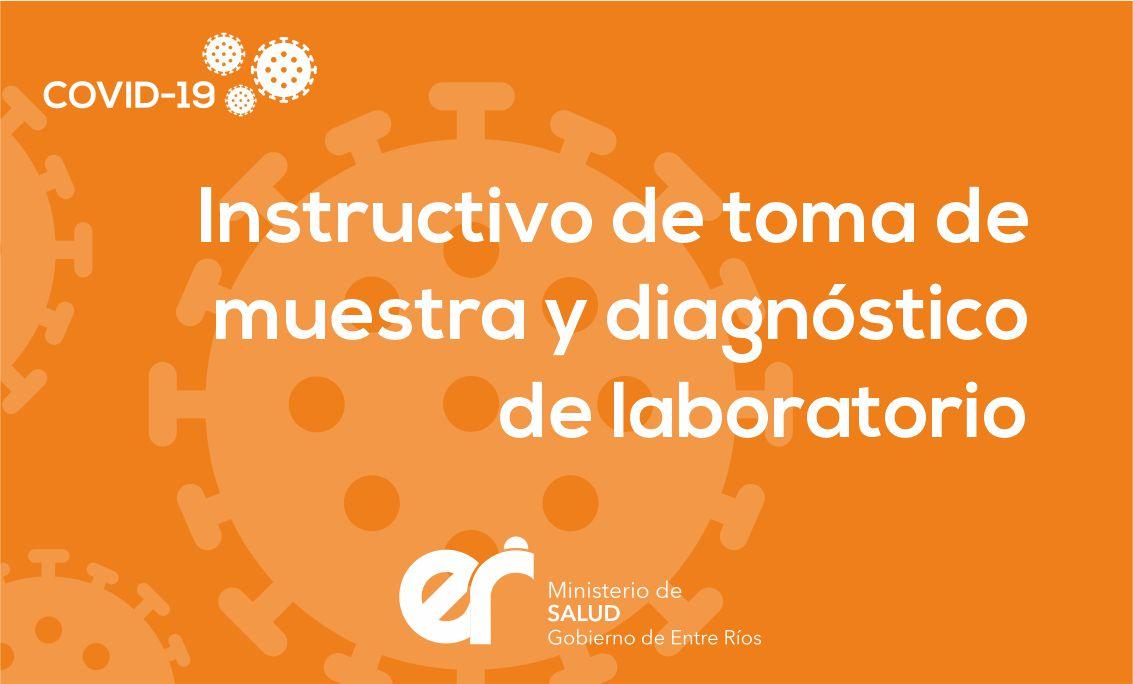 Instructivo de toma de muestra y diagnostico de laboratorio