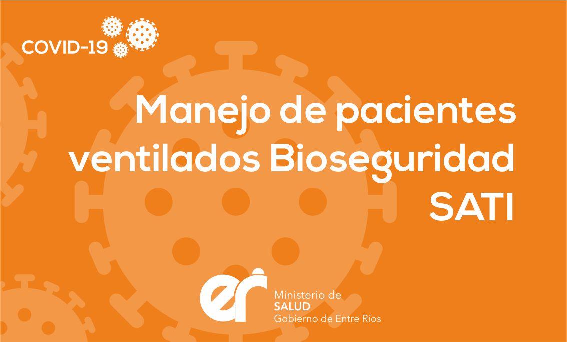 Manejo de pacientes ventilados Bioseguridad