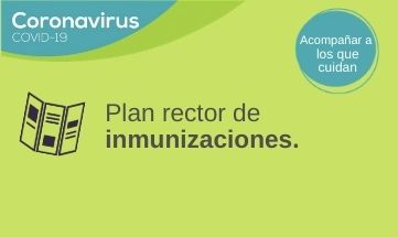 PLAN RECTOR DE INMUNIZACIONES – VOLUNTARIOS.